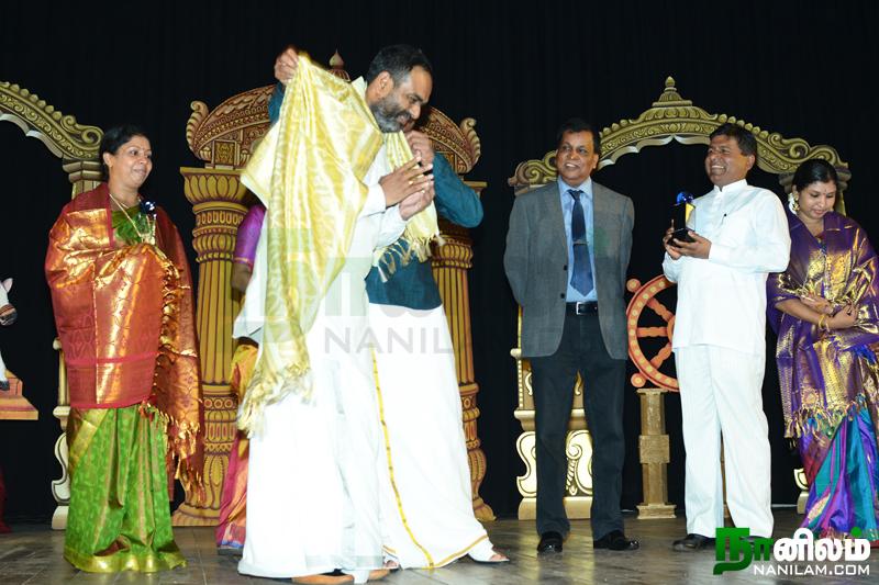 கலாநிதி ஶ்ரீ. தர்ஷனனுக்கு ஜனாதிபதியின் தேசிய விருது (2)