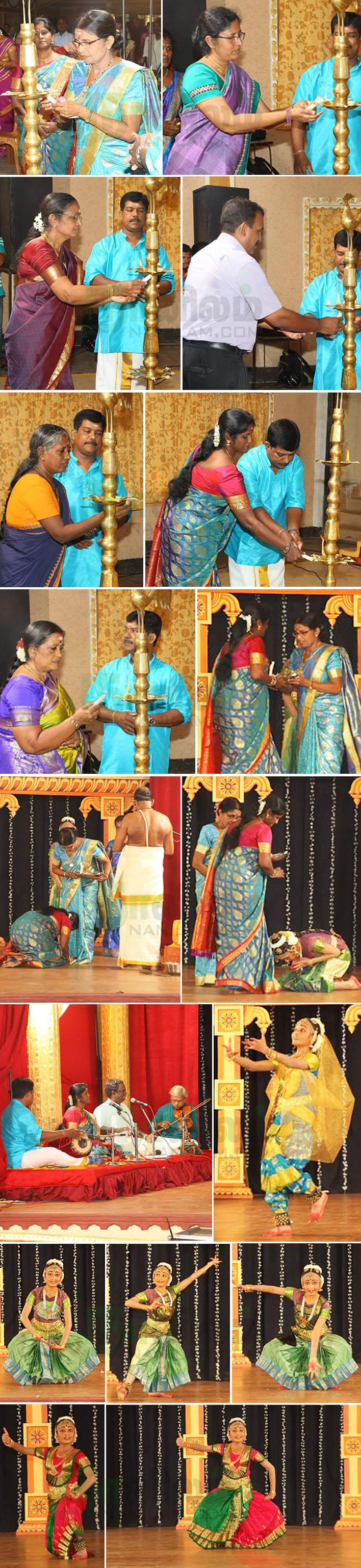 செல்வி தர்ஷனா அனுஷனின் பரதநாட்டிய அரங்கேற்றம் 1