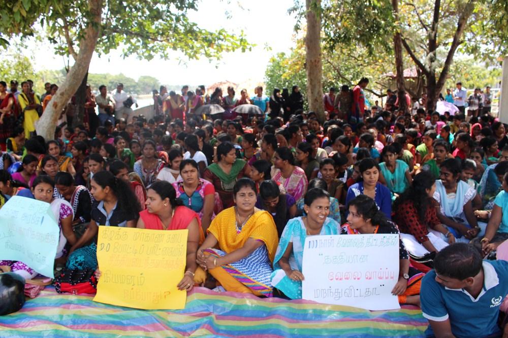 மட்டக்களப்பு மாவட்ட வேலையற்ற பட்டதாரிகள் போராட்டம் (4)