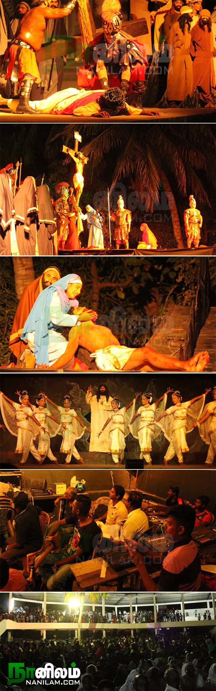 வேள்வித் திருமகன் திருப்பாடுகளின் காட்சி 4