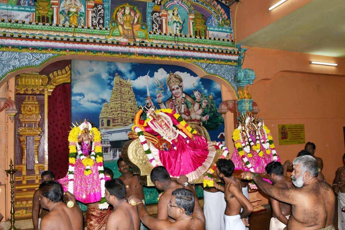 வண்ணை ஸ்ரீவீரமாகாளி அம்மன் கோவில் 10ம் நாள் திருவிழா (2)