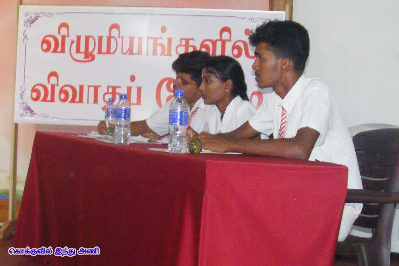 விவாதப்போட்டியில் கிளிநொச்சி புனித திரேசா வெற்றி (4)